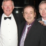 Eddie, George, Joe & Detser with Sir Alex