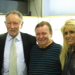 Sue & Josh Moran, Phil Coulter, Eddie, Geraldine Coulter and George. Phil wrote 'The Old Man' for us when our Dad died. He has written many worldwide hits including Congratulations, Puppet on a string, My Boy (Elvis) and most of the Bay City Roller hits among others.
