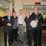 Photo taken with President of Ireland Michael D Higgins after a concert in the National Concert Hall, Dublin October 2012.