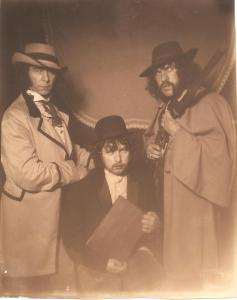 Paul, George & Detser looking dangerous