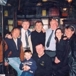Taken in  O'Donoghues pub with owner Oliver Barden,